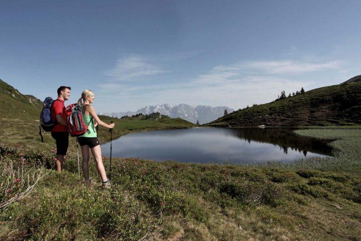 Holzlebn summer hiking mountains